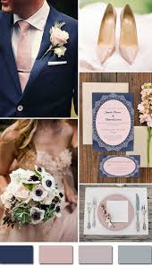 april wedding colors rustic navy blue and pink blush fall wedding color ideas and