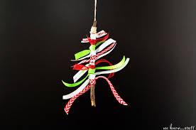 diy stick tree ornament we stuff
