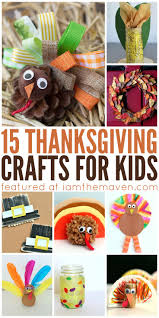 59 best thanksgiving crafts images on pinterest