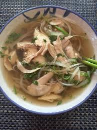 pho cuisine chicken pho noodle soup recipe pho ga viet kitchen