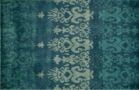 Blue Ombre Rug Bold Rug Choice For Our Front Entrance Satori Design For Living
