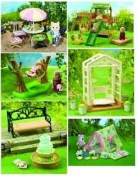 Sylvanian Families Garden - 198 best critter furniture u0026 accessories images on pinterest