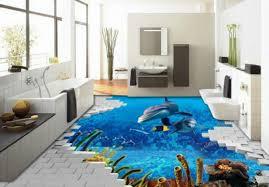 bathroom 53 beibehang dolphins font b 3d b font flooring font b