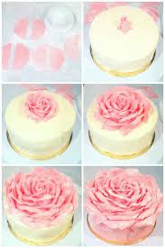 home decorated cakes best 25 rose petal cake ideas on pinterest edible rose petals