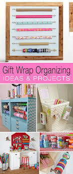 gift wrap storage ideas gift wrap organizing ideas projects decorating your small space