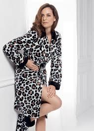 robe de chambre leopard taubert