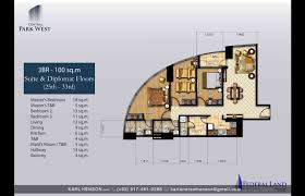 Park West Floor Plan by Central Park West By Federal Land Veritown Fort Bonifacio
