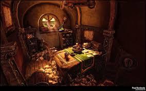 hobbit home interior houses 3d architecture environment hobbit