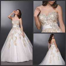 white wedding dress with gold beading white and gold gown family clothes