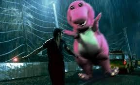 Barney Meme - barney jurassic park know your meme