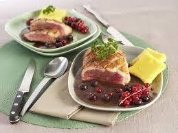 canard cuisine magrets de canard aux fruits rouges et polenta maggi