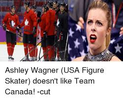 ashley wagner usa figure skater doesn t like team canada cut