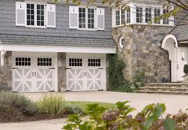 Garage Style Homes Enhance Curb Appeal With A Carriage House Style Garage Door