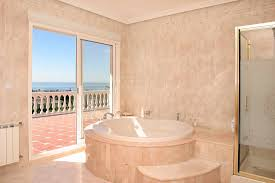 Bath Vs Shower Bathroom Reasons To Choose Porcelain Tile Ceramic Vs Porcelain