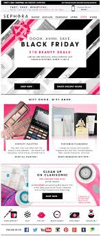 black friday email marketing inspiration 2014 sephora black