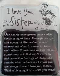 Quotes For Sister Love by Sister Blue Mountain Art Inc Magnet Quotes Scriptures Truth
