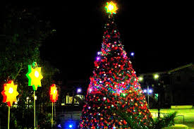 giant christmas tree at the mabalacat city hall pampanga