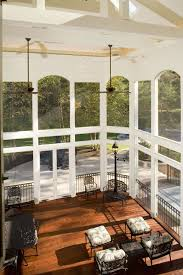 fire pit safe for screened porch