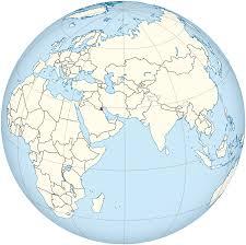 kuwait on a map kuwait map