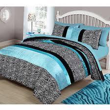 Pink Zebra Comforter Set Full Zebra Print Bedding Ebay