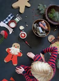 mer mag diy cardboard gingerbread men holiday pinterest diy