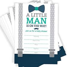 mustache and bow tie baby shower themed baby shower invitations bow tie mustache and