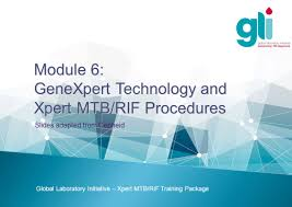 genexpert technology and xpert mtb rif procedures ppt video