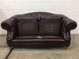 Leather Chesterfield Sofa Uk by Original Vintage Brown Leather Chesterfield Regent Sofa Aherns