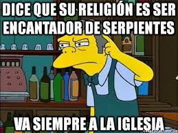 Moe Meme - cuánto cabrón moe y su confusa religión