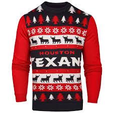 nfl mens light up ugly christmas sweater 2xl texans ebay