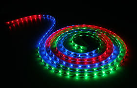 waterproof color chasing led light strips with multi color leds