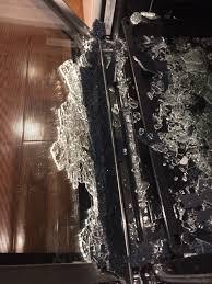 clean oven glass door oven glass door shattered