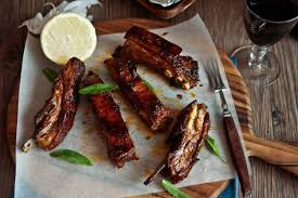 sticky spicy lamb ribs recipe lamb ribs lambs and spicy