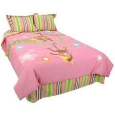 Toys R Us Comforter Sets Monkey Twin Bedding Sets Product Name Pink Monkeys Twin