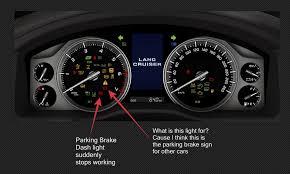 parking brake dash lights not working 2017 lc200 ih8mud forum