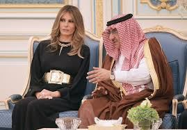 melania and ivanka trump u0027s newsmaking style in saudi arabia la times