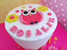 edible cake decorations fondant owl flowers edible cake decorations 30