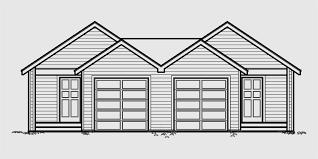 Multi Family House Plans Duplex Duplex House Plans Multi Family House Plans D 457