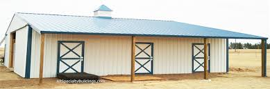 Barn Designs For Horses Horse Barns U2013 All Specialty Buildings Inc