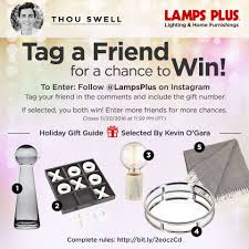 lamps plus holiday gift guide u0026 giveaway thou swell