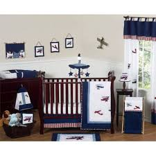 sweet jojo designs vintage aviator collection 11 piece baby crib