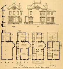 Small Home Plans With Basement Baby Nursery Victorian Home Plans Victorian Home Plans With