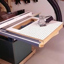 Table Saw Extension Wing Ideas By Jonlruss  LumberJockscom - Downdraft table design