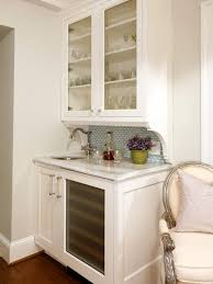 Glass Door Bar Fridge For Sale by Classic Traditional Kitchen By Sheila Jones For The Home