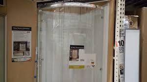 home depot glass shower doors round glass shower review 514 at home depot