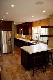 Kitchen Peninsula Design Chef Worthy Craftsman Kitchen Renovation Jeff Troyer Associates