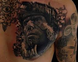 aztec warrior tattoos for men pictures to pin on pinterest