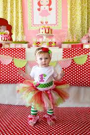 strawberry shortcake birthday party ideas strawberry shortcake themed 1st birthday party with such