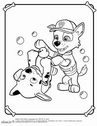 paw patrol coloring pages birthday printable with eson me