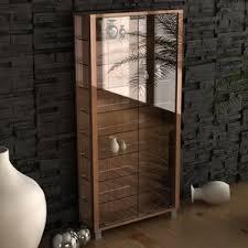 glass cabinet display cabinets wayfair co uk
